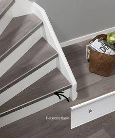 Flexxstairs - Introductie Flexxstairs | Flexxfloors Open Trap, Entryway Tables, Stairs, Shelves, Flooring, Storage, Furniture, Home Decor, Wood Projects