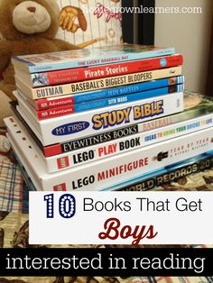 10 Books That Get Boys Interested in Reading - Home - Homegrown Learners