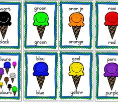 Teaching Resources for South African Teachers Grade R Worksheets, Preschool Worksheets, Preschool Activities, Afrikaans Quotes, Free Preschool, Green And Orange, Pre School, Teaching Resources, Homeschool