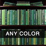 *Books By The Foot*  Purchase books by the color, subject or size.