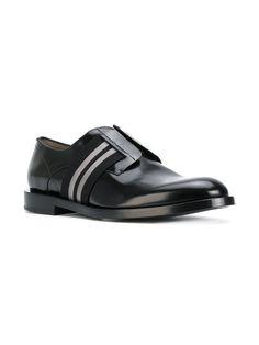 Fendi Zapatos Derby Con Tira Elástica - Farfetch 22c2a2bc67edc