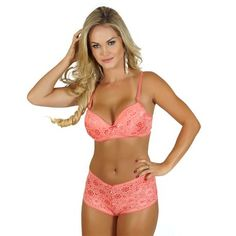 click chique lingerie set bra and panty intimate