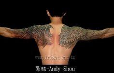 tattoo god devil wings arm - Google-søk