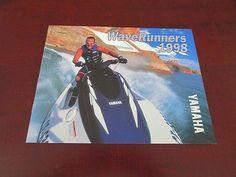 1998 Yamaha Waverunner Jet Ski Watercraft Boat Sales Brochure Wave Runner XL +