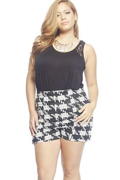 12 Pairs Of Shorts Worthy Of A Curvy Girl #refinery29  http://www.refinery29.com/plus-size-shorts#slide-12