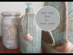 Verf met sout en Chalk paint. - YouTube Chalk Paint, Make It Yourself, Youtube, Blog, Painting, Paintings, Blogging, Draw, Youtubers