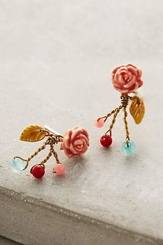 Broderie Earrings - anthropologie.com
