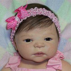 Reborn Baby Girl~Victoria~New, Extra-Soft, Full Vinyl, Sheila Michael, Doll