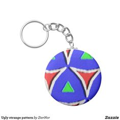 Buy a metal, acrylic, or wrist style keychain, or get different shapes like round or rectangle! Round Button, Different Shapes, Being Ugly, Buttons, Drop Earrings, Abstract, Pattern, Color, Colour