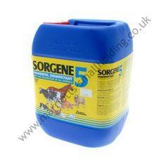 Sorgene 5 Broad Spectrum Disinfectant 5ltr - £45.00 ex. VAT #Sorgene5, #5ltr, #Disinfectant