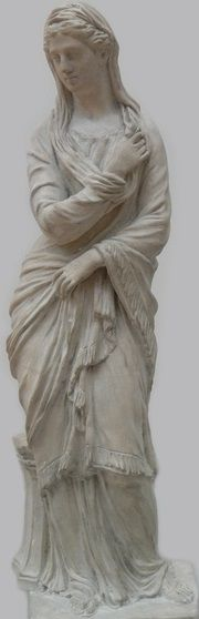 HESTIA | Virgin goddess of the hearth, home, and chastity, sister to Zeus, Poseidon, Hades, Hera & Demeter.