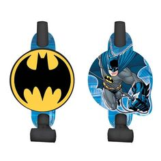 Check out Batman 5 Blowouts - Party Blowers & Individual Party Supplies from Birthday In A Box