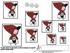 Maternelle: Le Petit Chaperon rouge, exercices de repérage spatial