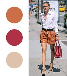 Color Combinations to Try // Olivia Palermo // Whowhatwear