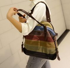 Fashion Vintage Handbag Women's Shoulder Bag Canvas Crossbody Hobo Messenger: Handbags: Amazon.com