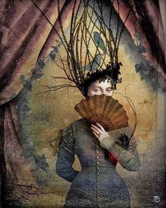 Anything can happen in a world that holds such beauty - Christian Schloe is a talented Chilean artist whose work includes digital art, painting, illustration, and photography. Art And Illustration, Fantasy Kunst, Fantasy Art, Image Fruit, Max Ernst, Magic Realism, Fine Art, Surreal Art, Oeuvre D'art