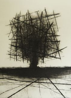 'Drypoint' by Swedish artist, sculptor & printmaker Johannes Nielsen (b.1979). Etching, 17.7 x 11.8 in. via Saatchi