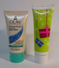 Olay Moisturerinse In Shower Body Lotion & Avon Basics Hand Cream 2 pc Lot…