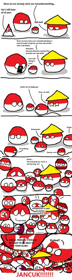 The Sacred Red and White ( Poland, Indonesia, Monaco, Singapore, ...more ) by Globe Learner  #polandball #countryball