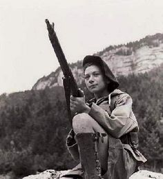 Nancy Wake: French Maquis, SOE operative, and all around Gestapo bane (once killed an SS officer with her bare hands), she was the most decorated Allied woman of WWII.