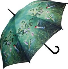 Full Size Hautman Hummingbirds Umbrella