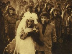 19. Wedding picture from Izu Island; the habitants use gas masks because there are high levels of sulfur in the air due to volcanic activity