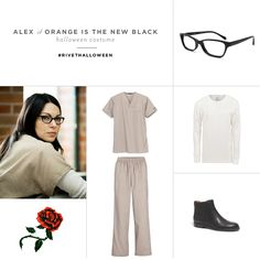 #Halloween #Costume Ideas With Glasses | Alex of Orange Is The New Black