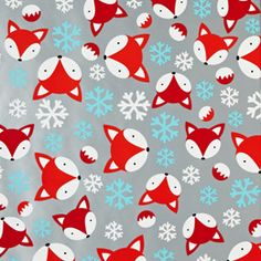 And FOX wrapping paper?!! Killin me, smalls!! =) Ginger & Snap Fox Gift Wrap