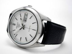 Mysterious Seiko 5   WatchUSeek Watch Forums Seiko 5 Automatic Watch, Gentleman Watch, Casio G Shock, Breitling, Mysterious, Mystery, Watches, Guys, Wristwatches