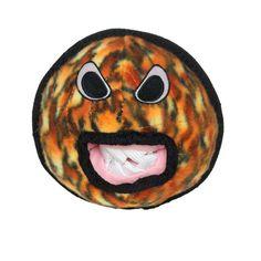 Tuffy Durable Dog Toy Alien Ball Fire Print - T-A-BALL-FIRE