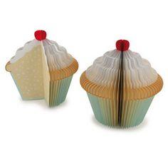 Bloc mémo Cupcake