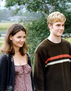 Dawson's Creek/Joey and Dawson Joey Dawson's Creek, Dawson Creek, Dawson's Creek Cast, Joey Potter, Famous In Love, Tv Show Quotes, Fashion Tv, Katie Holmes, Movie Characters