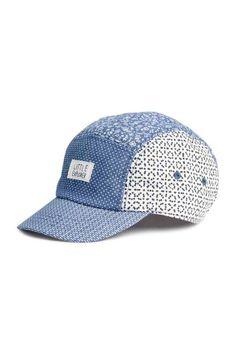 Gorra de algodón estampada - Azul - NIÑOS  8a332e6fc54