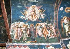 46 (4) Tempera, Fresco, Mural Painting, Christian Art, Kirchen, Color Pallets, Jesus Christ, Brickwork, Kunst