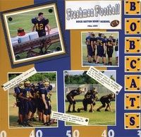 Gallery Projects - Scrapbooking - Sports - football - Two Peas in a Bucket