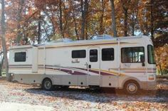 """2001, Bounder by Fleetwood 31'6"""" Class A Motorhome. 6.8L EFI Ford V10 Gasoline Engine. 75 Gallon Fuel Capacity. 2 Slide Outs, 18' Patio Awning, Sleeps 6, 2 A/C Units, Hydraulic/Electric Leveling Jacks. - See more at: http://www.rvregistry.com/used-rv/1004452.htm#sthash.GzYly9HS.dpuf"""