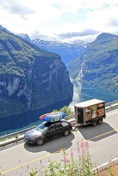 Norway Valldal Road Trip 2012 by gene17kayaking,  See http://gene17kayaking.com/kayaking-adventures/norway-valldal-road-trip/
