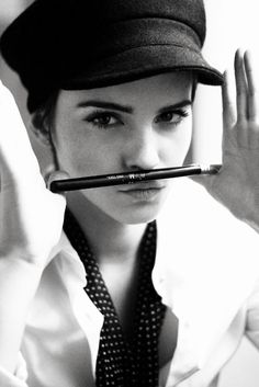 Emma Watson. Photographed By Harry Crowder