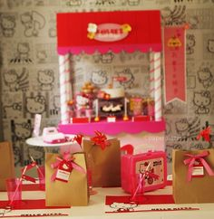 Hello Kitty Sweet Shoppe Birthday Party - Kara's Party Ideas - The Place for All Things Party