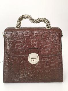 Brown leather bag, Retro handbag, Women satchel tote, high quality genuine leather, chic design, Women leather bag, Vintagestyle