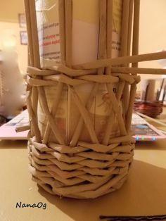 DSCN2272 Newspaper Basket, Wicker Baskets, Home Decor, Hampers, Decoration Home, Room Decor, Home Interior Design, Home Decoration, Woven Baskets