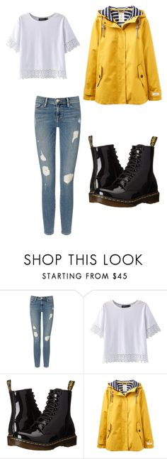 """Raining Fall"" by megaspirit on Polyvore featuring Frame Denim, Dr. Martens and Joules"