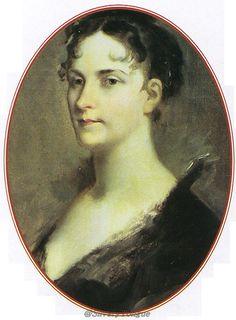 Oval Portrait de l'Impératrice Joséphine - Prud'Hon Pierre-Paul.