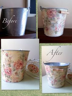 Easier Impossible, one layer of white paint, modge podge, decoupage with this lovely shabby chic napki Shabby Chic Napkins, Shabby Chic Crafts, Shabby Chic Homes, Shabby Chic Decor, Shabby Chic Napkin Holder, Manualidades Shabby Chic, Diy Y Manualidades, Napkin Decoupage, Decoupage Art