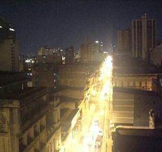 Avenida Colón.  Desde el 8○piso del Hotel Armele. Asunción.  PARAGUAY