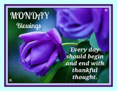 Monday's Blessing