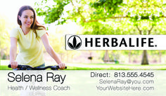 Latest New Herbalife #BusinessCard design now available for health and wellness coaches! Get $10 off your first order by using coupon code CHRIS10 at checkout! #Herbalife #Health #wellness #fitness #nature #newyearresolution #BusinessCard