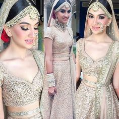 Haute spot for Indian Outfits. Pakistani Wedding Outfits, Bridal Outfits, Bridal Dresses, Pakistani Suits, Pakistani Bridal, Indian Dresses, Indian Outfits, Indian Bridal Wear, Braut Make-up