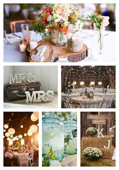 Lanternes mariage Offbeatbride Rustic Wedding Chic amp Wedding Chicks http://yesidomariage.com - Conseils sur le blog de mariage