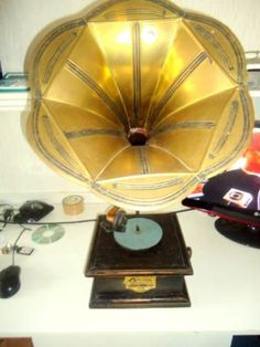 Gramofone Victor Talking Machine Victrola Usa 1908 - R$ 2.000,00